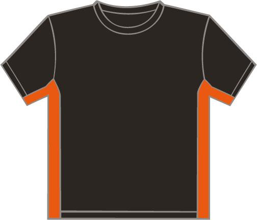 K340 Black - Orange