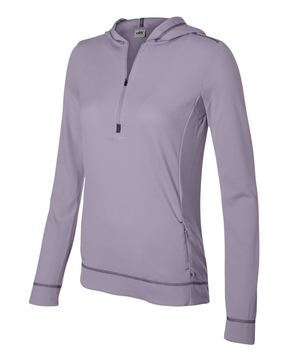 Alo Womens Performance Half Zip Hoodie