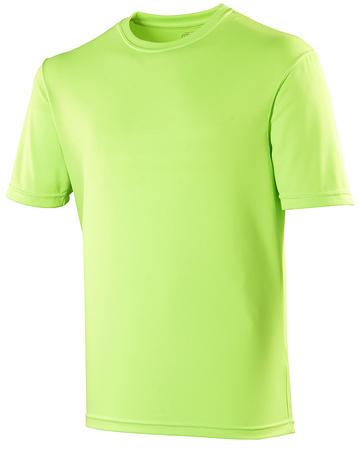 AWDis Just Cool Sportshirt JC001 Fluor Green
