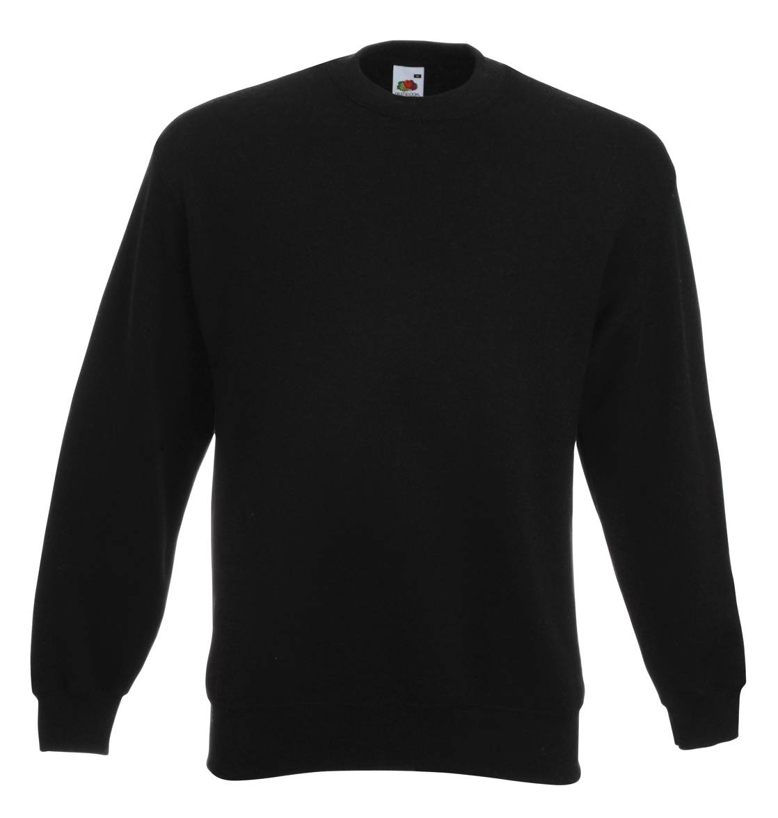 Fruit of the Loom Set-In Sweater 622020 Black