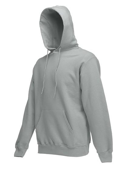 Fruit of the Loom hoodie sweater SC244C Heather Grey