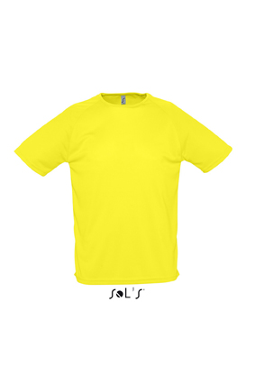 Sols Sporty sportshirt Lemon