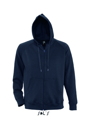 Sols Story Zip Hooded sweater Navy