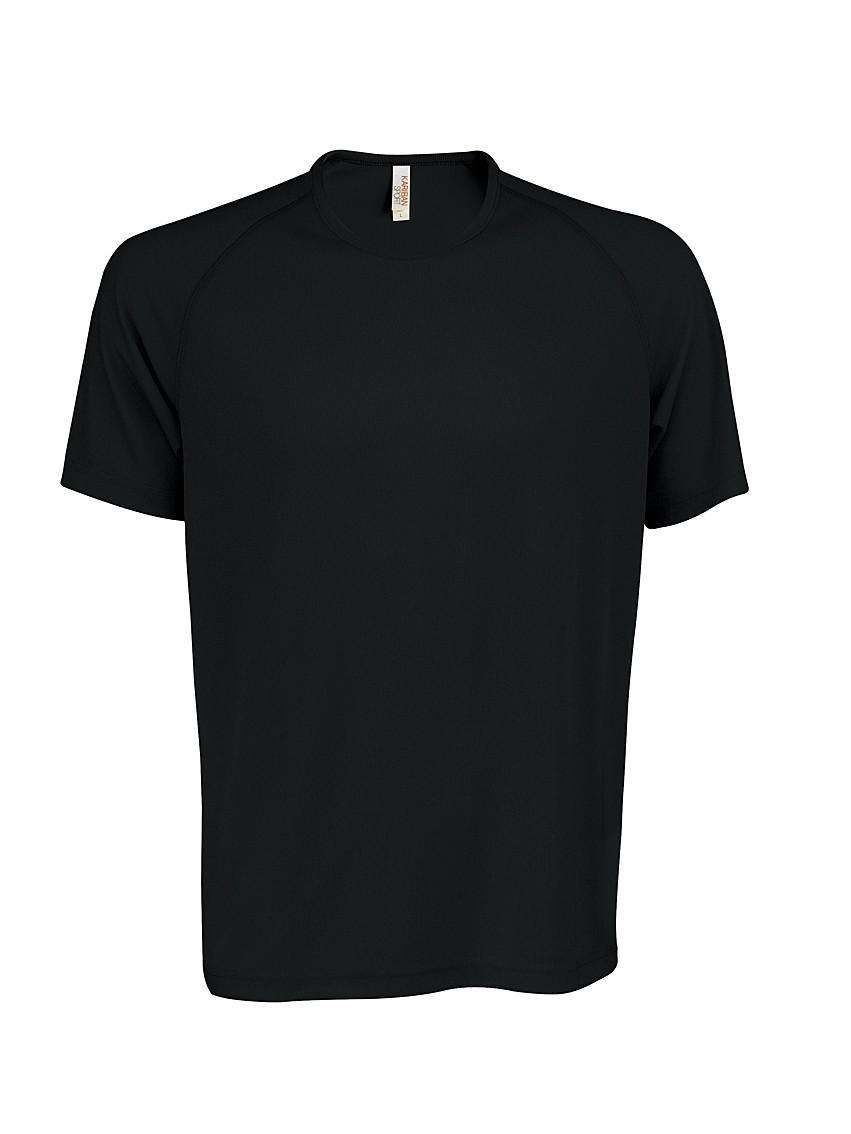 Heren Sport T-shirt KS017 Black