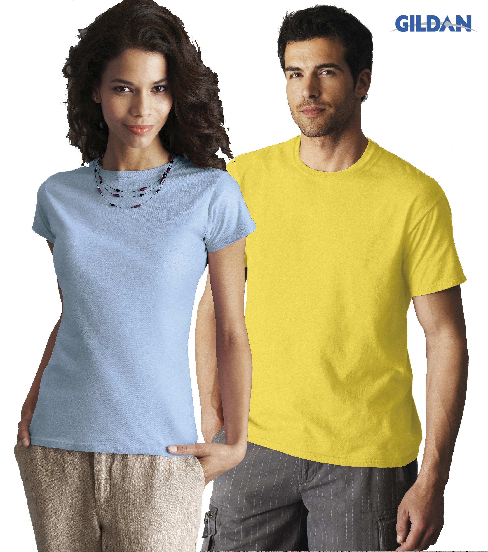 Men's T-shirt en Ladies Fitted T-shirt