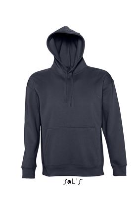 Sols Slam Unisex Hooded Sweater Navy