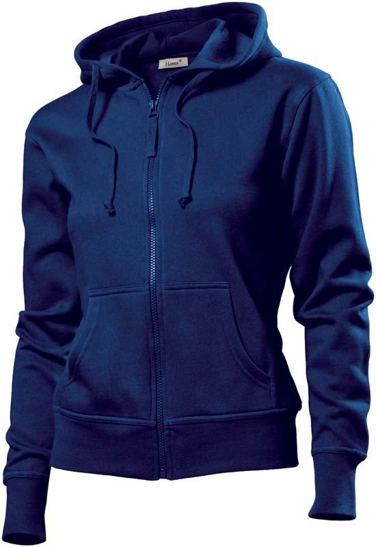 Hanes Spicy dames hoodie 6510 Navy