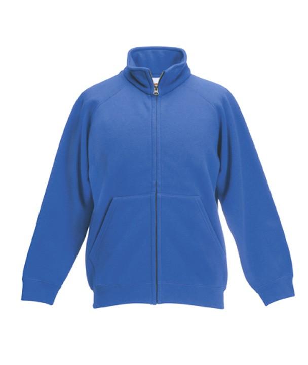 FotL Kids Sweat Jacket Royal Blue
