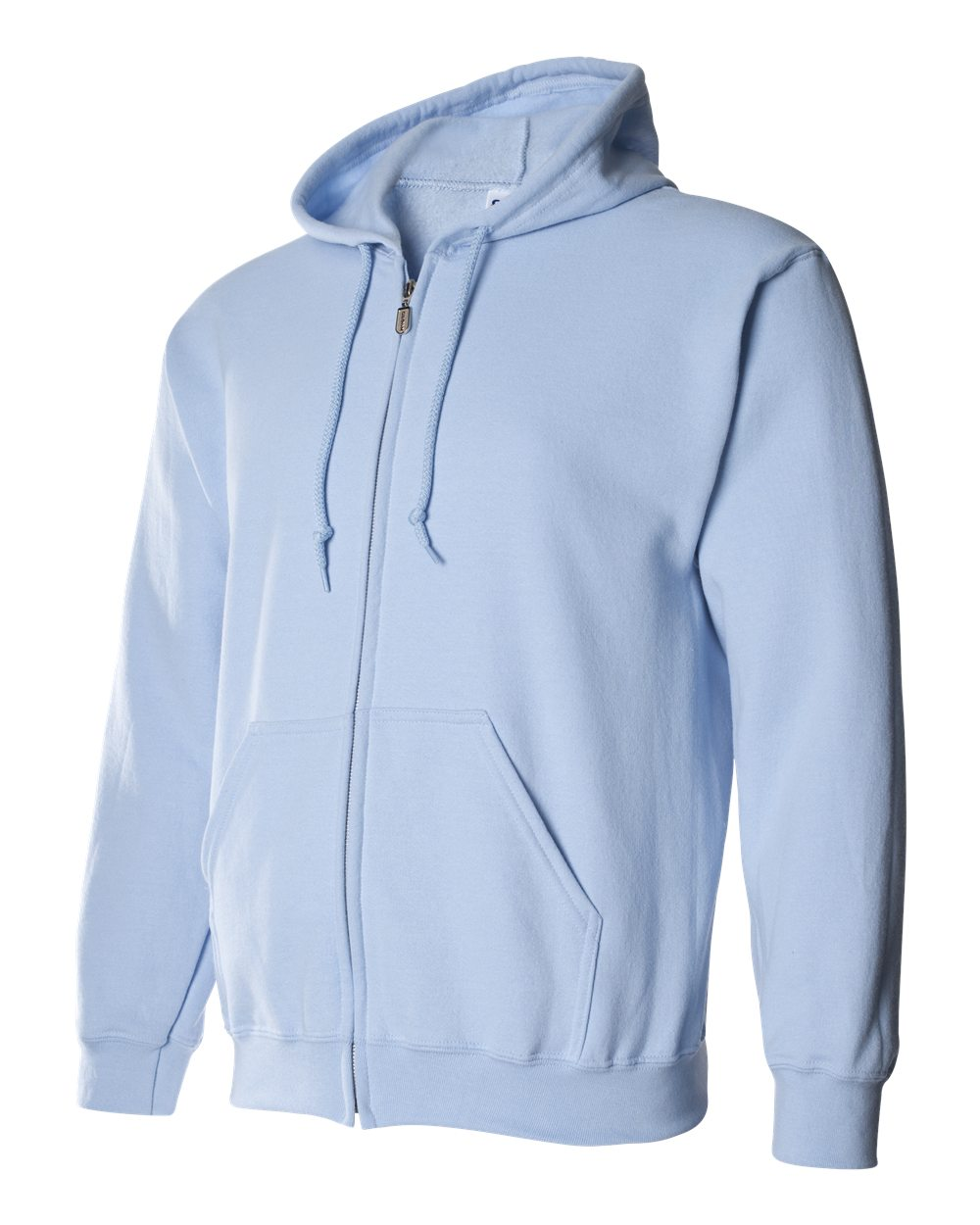 Gildan Heavy Blend Full Zip Hoodie GIL18600 Light Blue