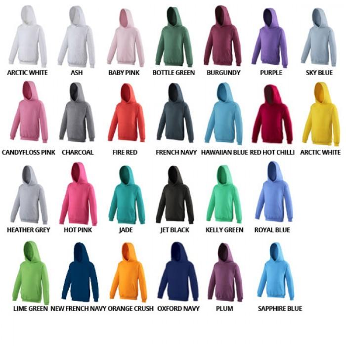 AWDis Hoods Kids Hoodie Sweater Kinderen alle kleuren