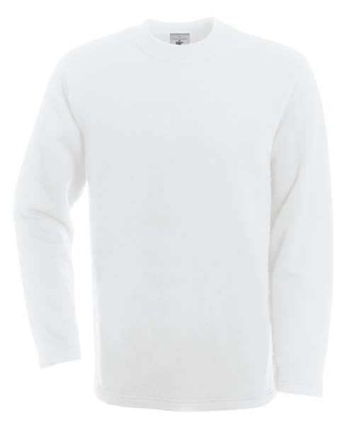 BC Open Hem sweater Wit