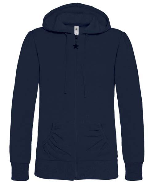 B-C Wonder Women Dames hoodie Navy