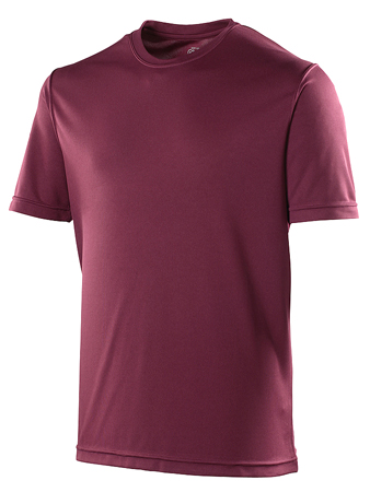 AWDis Just Cool Sportshirt JC001 Burgundy