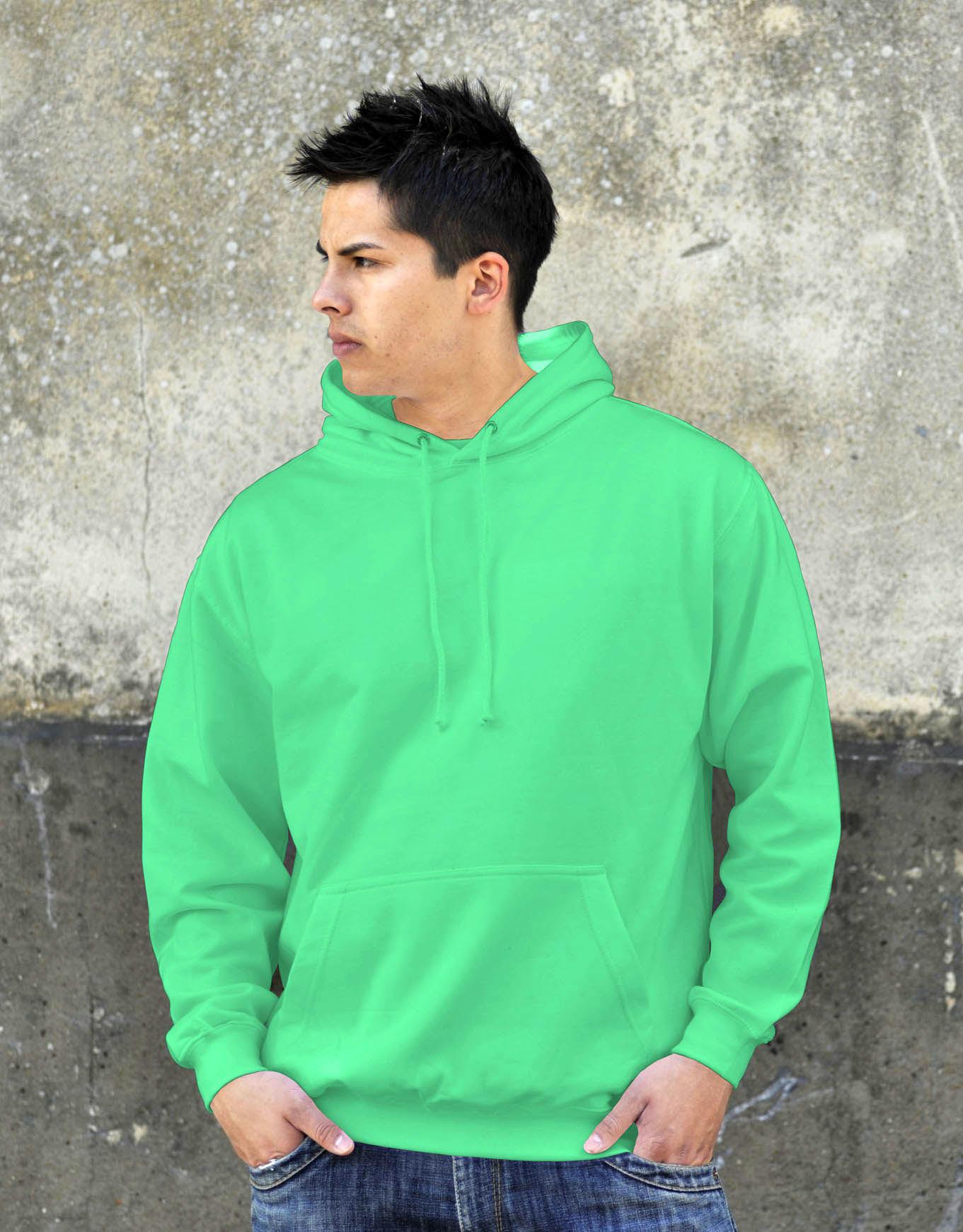 AWDis JH001 College hoodie Apple Green