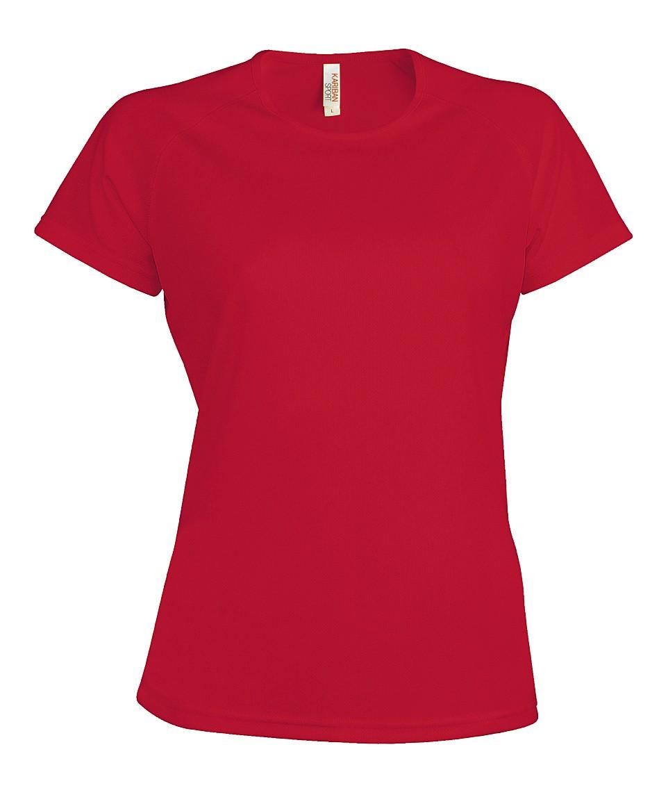 Heren Sport T-shirt KS030 Red