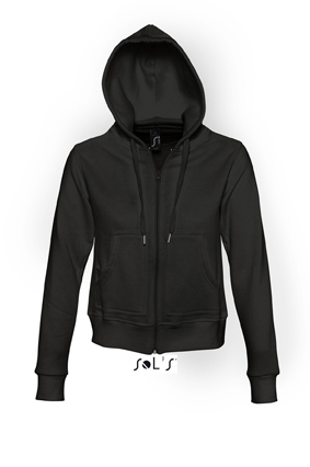 Sols Success Zip Hoodie sweater Black