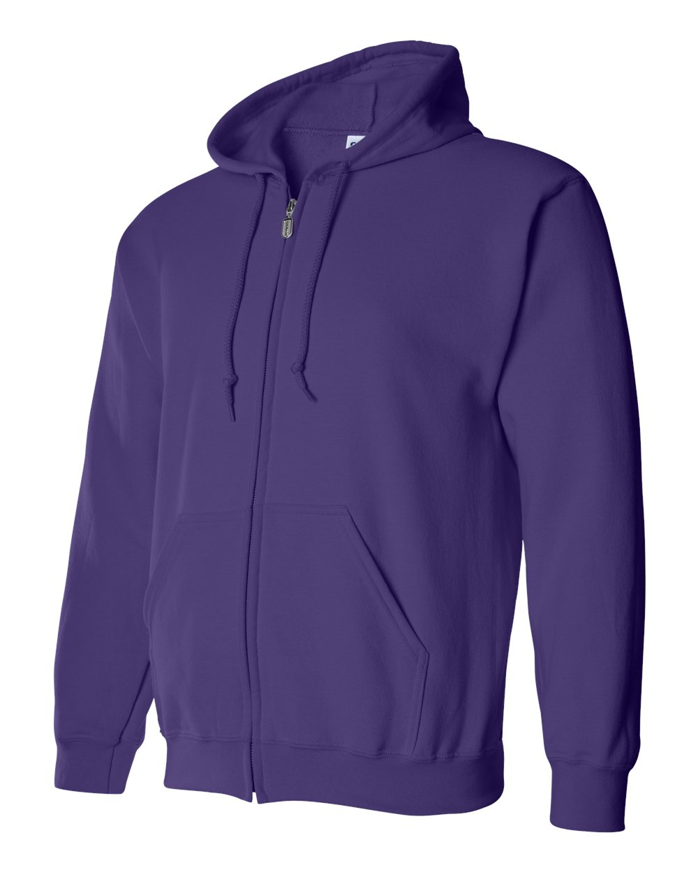 Gildan Heavy Blend Full Zip Hoodie GIL18600 Purple