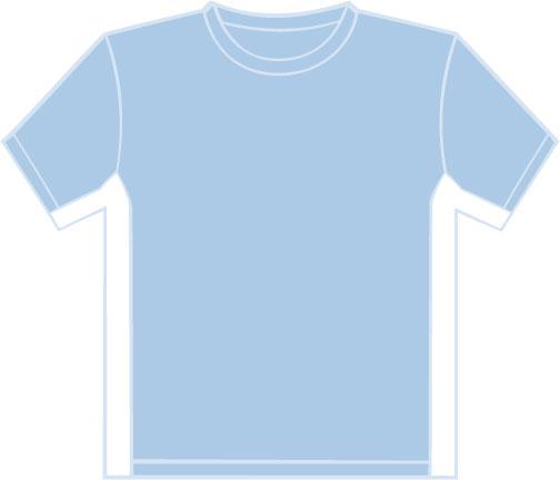 K340 Sky Blue - White