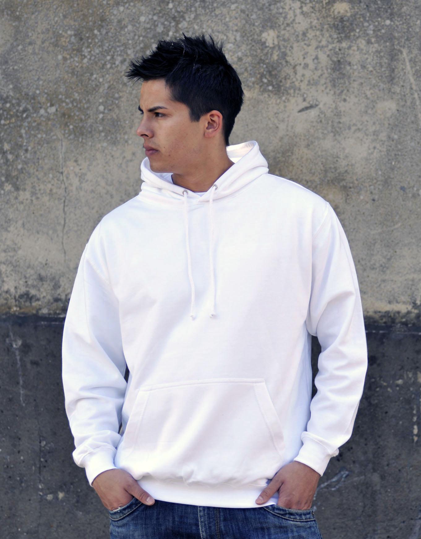 AWDis JH001 College hoodie Arctic White