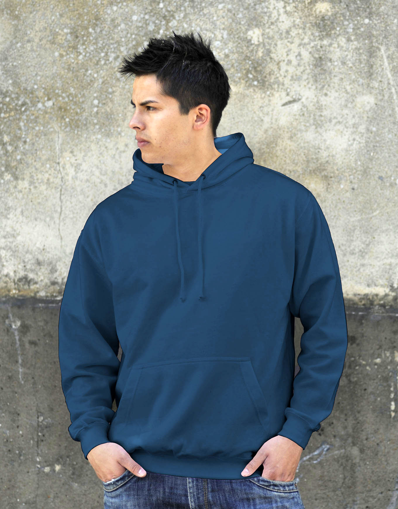 AWDis JH001 College hoodie Airforce Blue