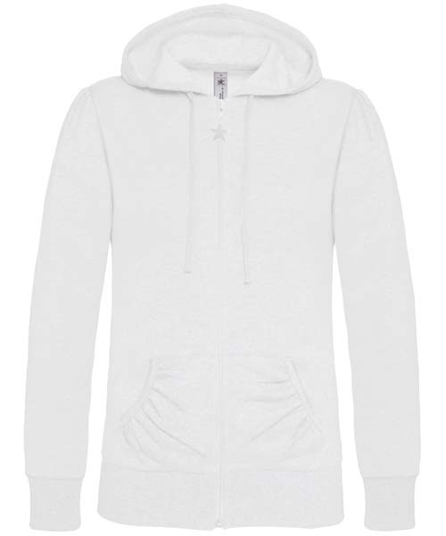 B-C Wonder Women Dames hoodie White