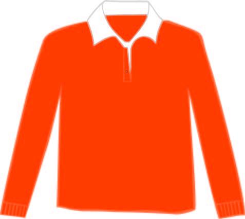 LEM3215 Orange - White