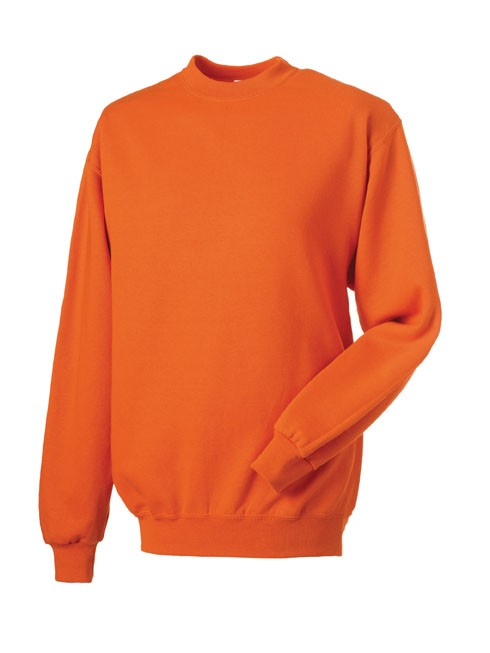 Russell Set-in Sleeve Sweatshirt RU262M orange