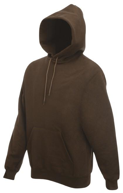 Fruit of the Loom hoodie sweater SC244C Chocolate