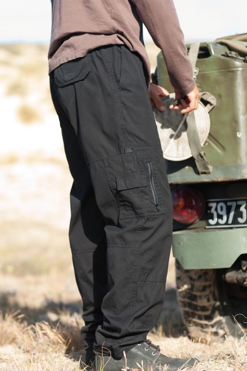 K784 Safari Pants Black