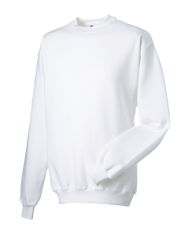 Russell Gold Label Set-in Sweater RU162MC White