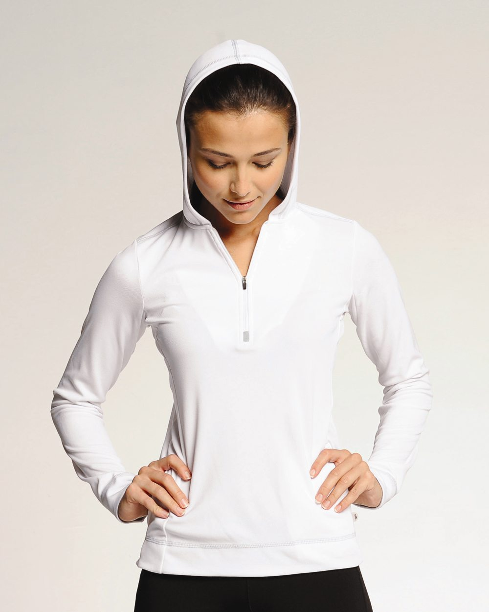 Alo Womens Performance Half Zip Hoodie W3002 Foto