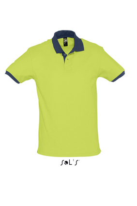 Sols Prince Apple Green - French Navy