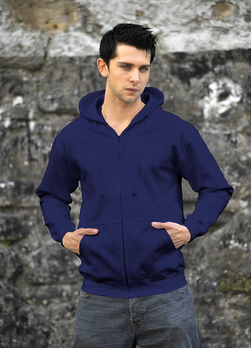 AWDis Zoodie JH050 hoodie Oxford Navy