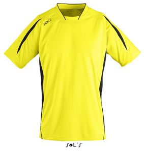 Sols Maracana Lemon - Black
