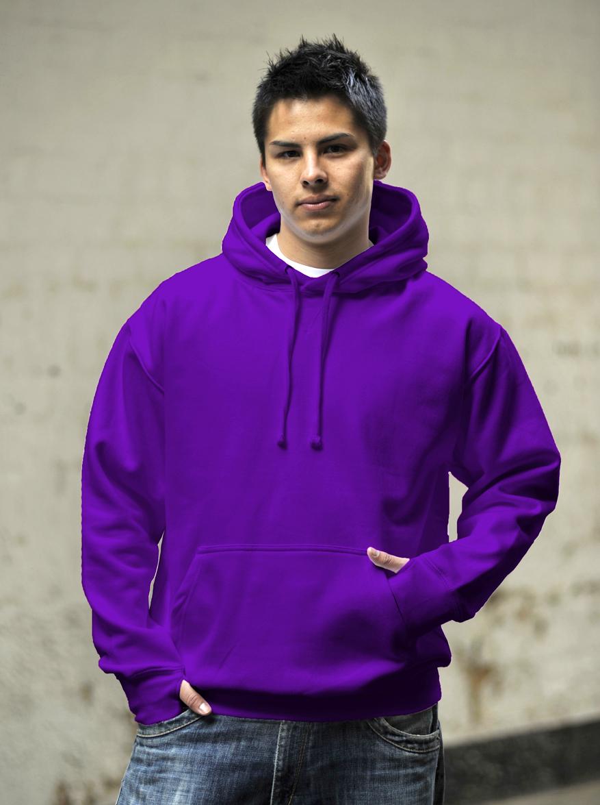 AWDis Street Hoodie JH020 Purple
