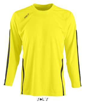 Sols Wembley LSL Lemon - Black