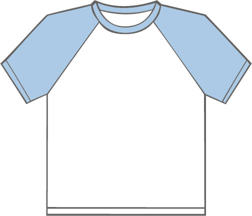 K330 White - Sky Blue