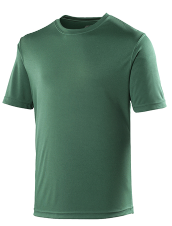 AWDis Just Cool Sportshirt JC001 Bottle Green