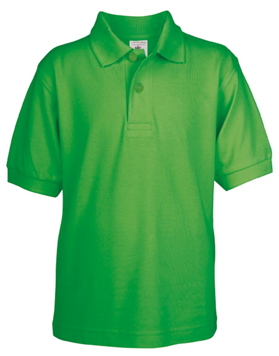 Kids Polo Safran Real Green