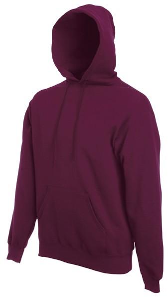 Fruit of the Loom hoodie sweater SC244C Burgundy
