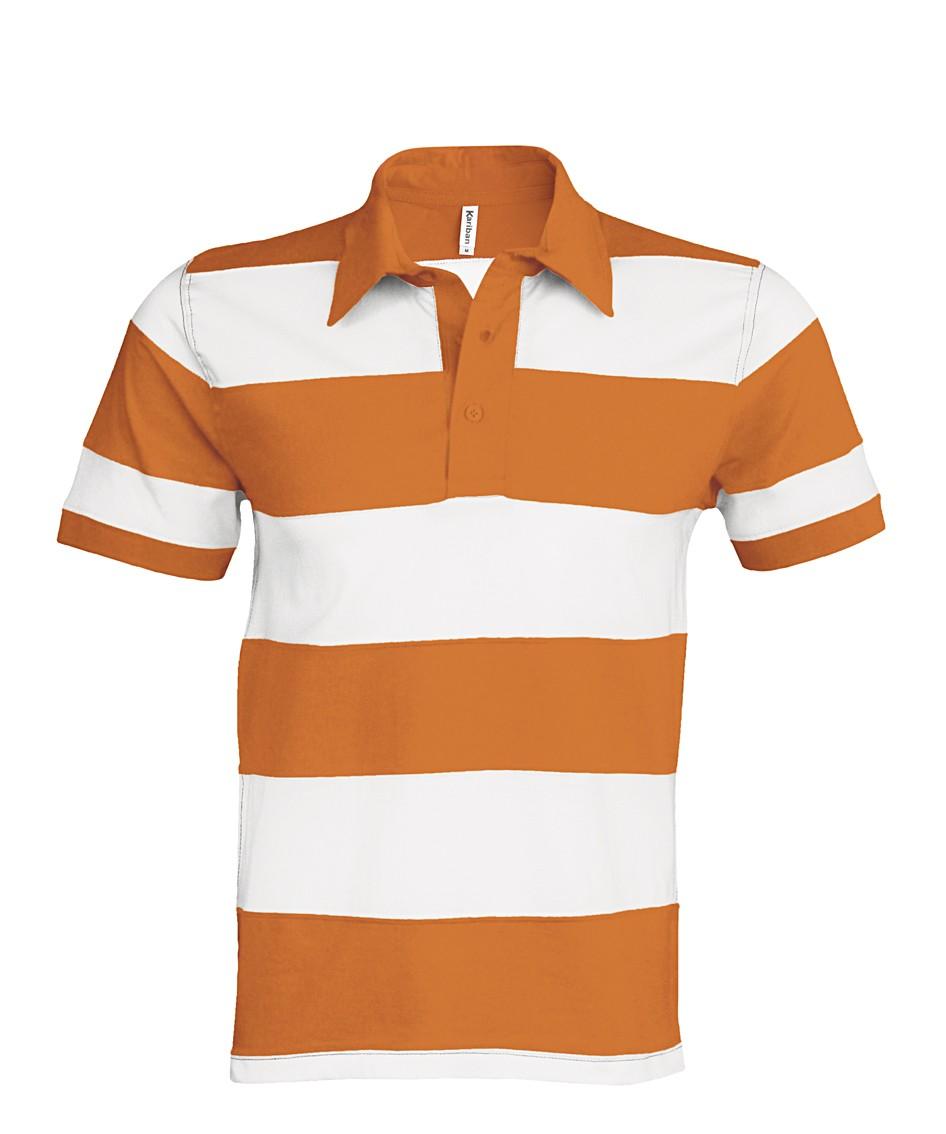 K237 Orange - White