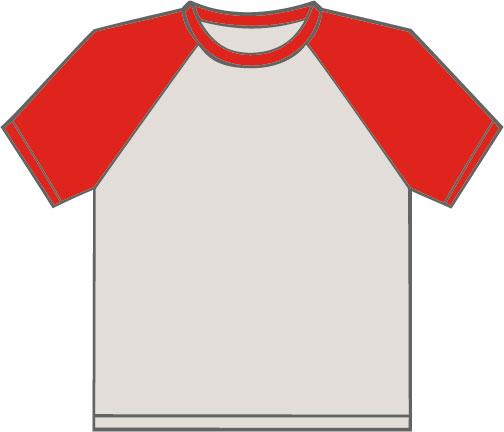 K330 Light Grey - Red