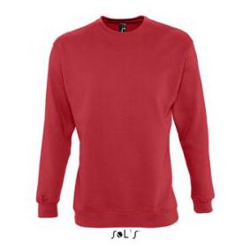 Sols Supreme Unisex Sweater red