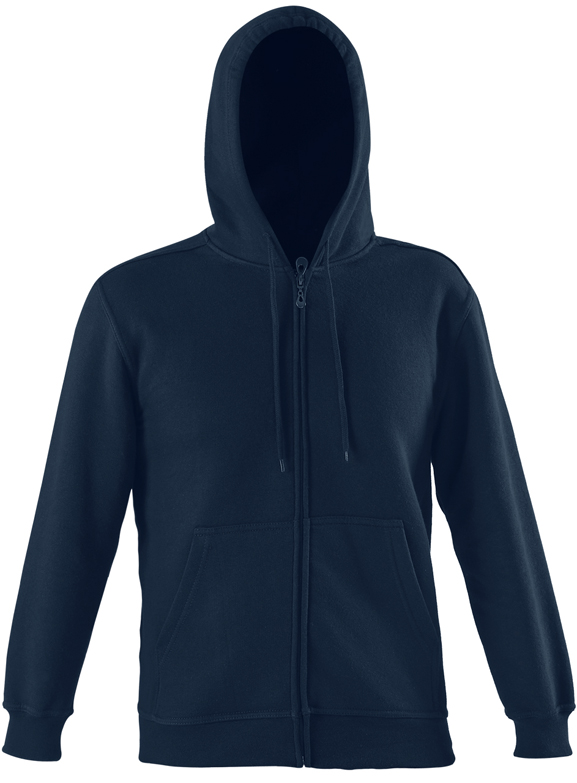 Starworld Full Zip Hoodie Deep Navy