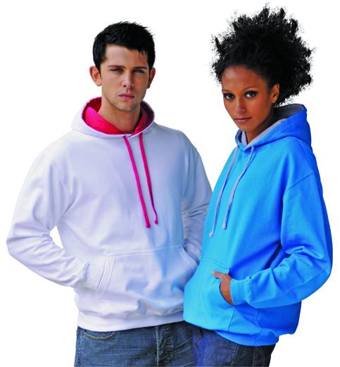 AWDis JH003 Varsity hoodie dames