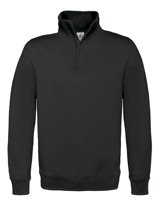 BC Sweater met hoge kraag Zwart