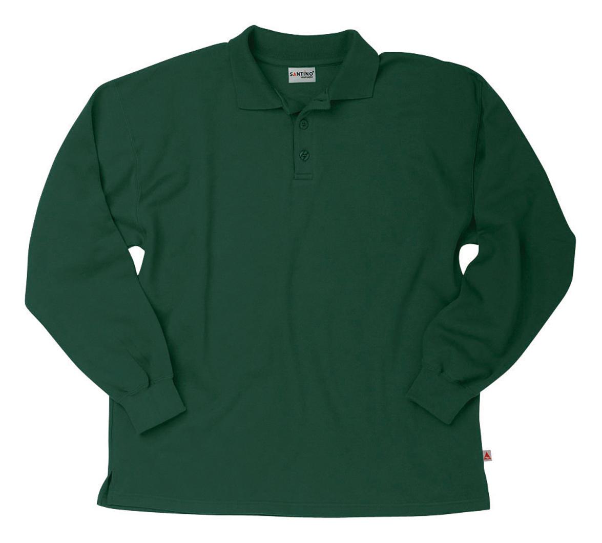 Santino Polosweater Rick Donkergroen