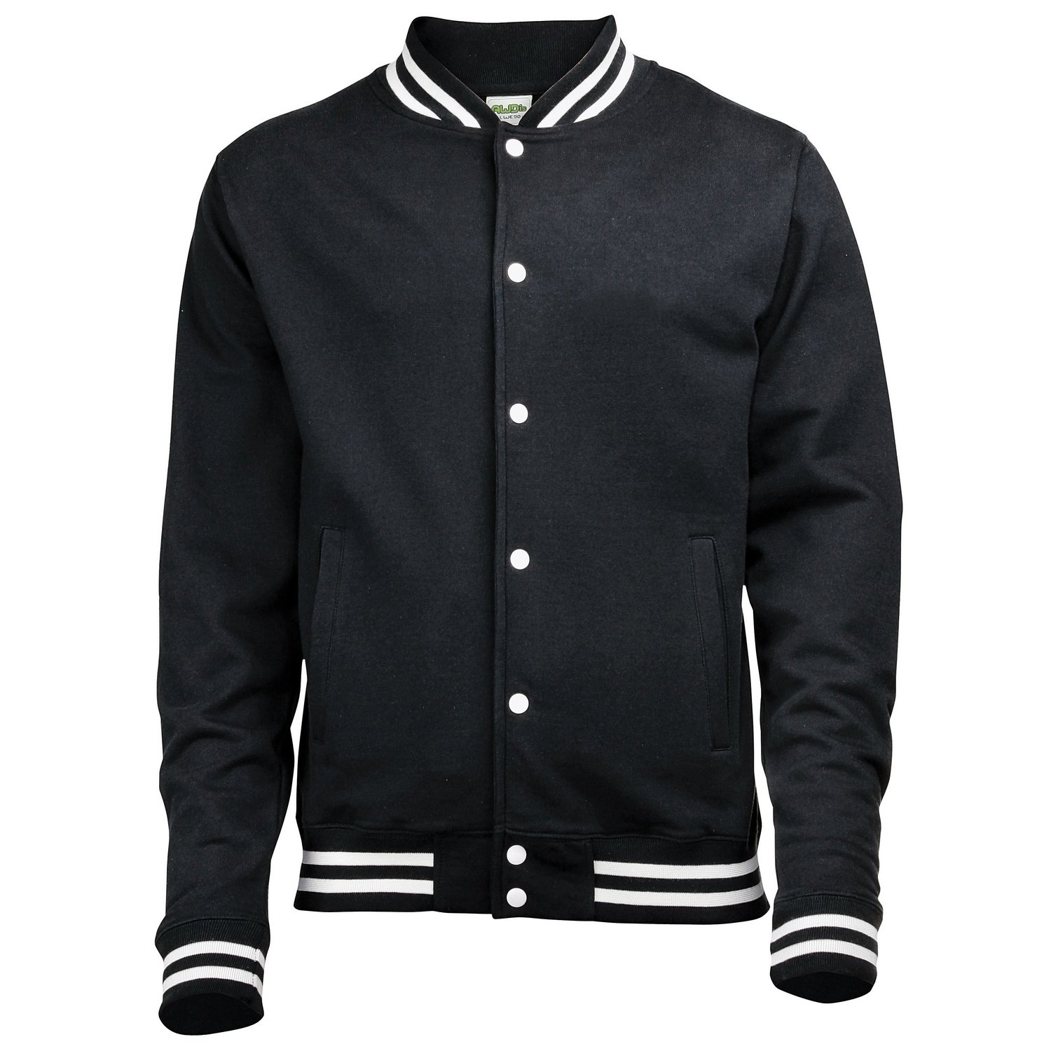 AWDis College Jacket jet black