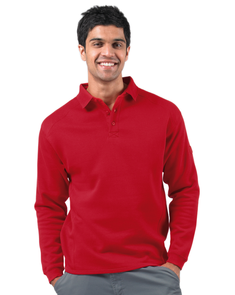 Russell Workwear Polo sweater rood