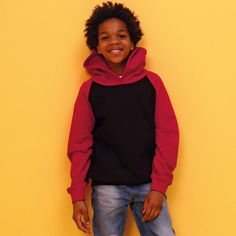AWDis Hoods Kids baseball kinder hoodie